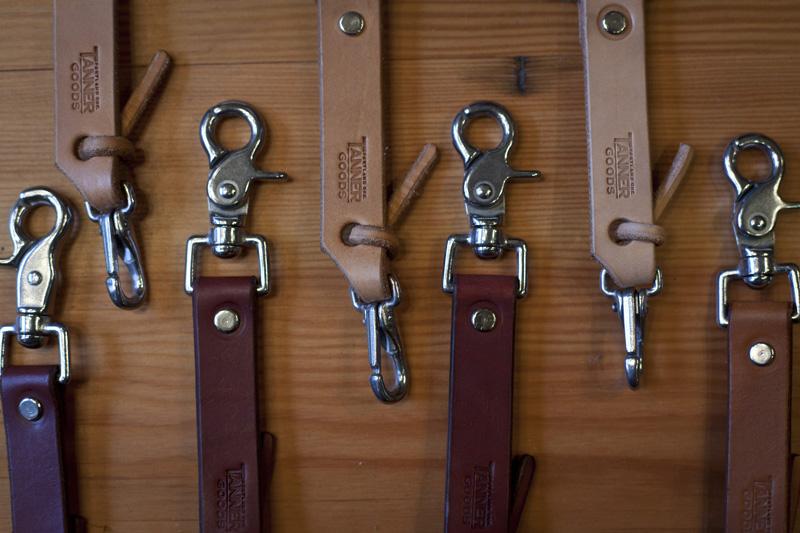 ポートランドの革製品