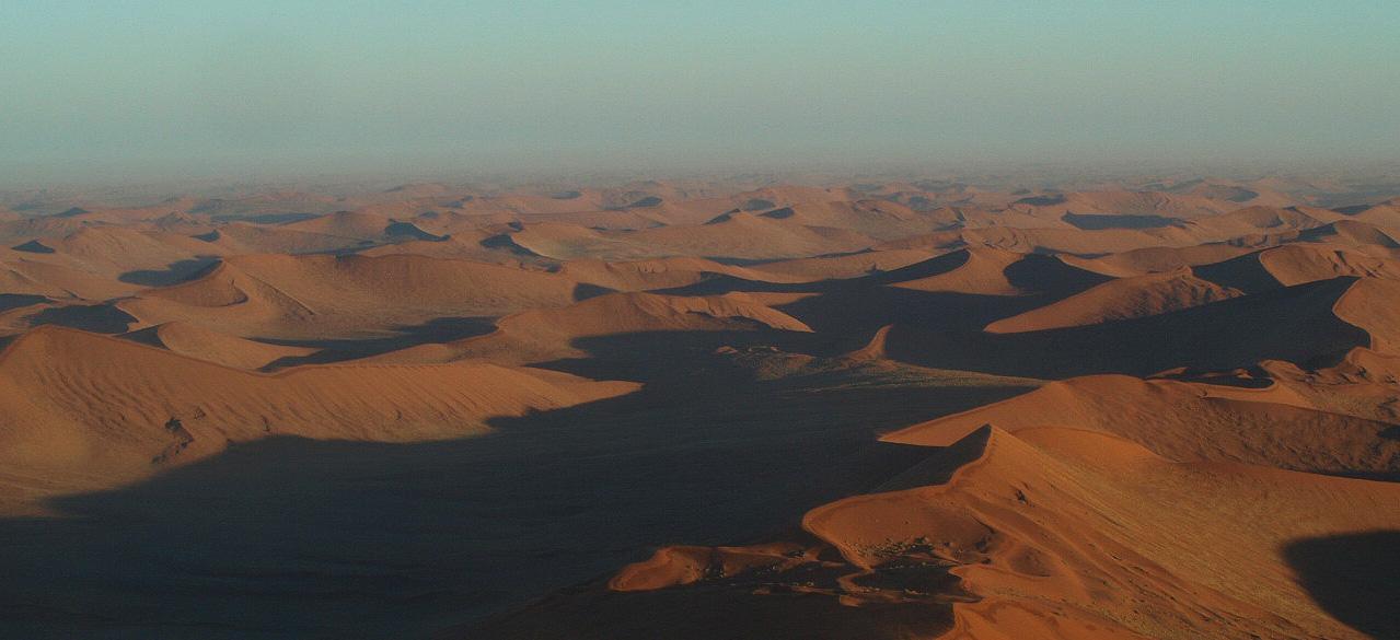 ナミビアの砂漠
